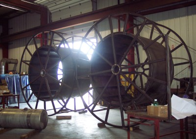 coiled tubing reels