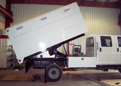custom hydraulic dump box