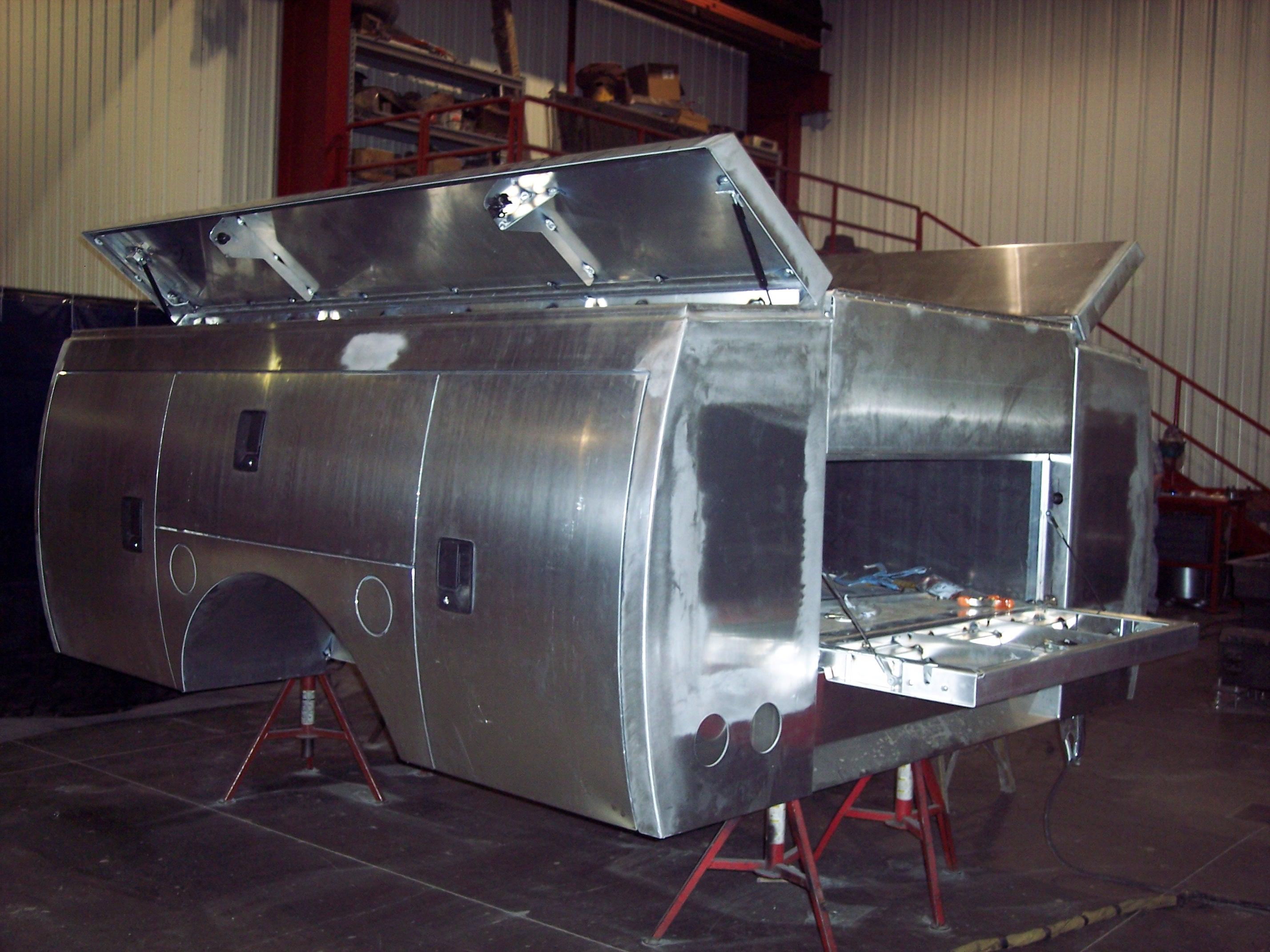 Truck Utility Box >> Custom Truck Utility Box Bill S Custom Fabrication